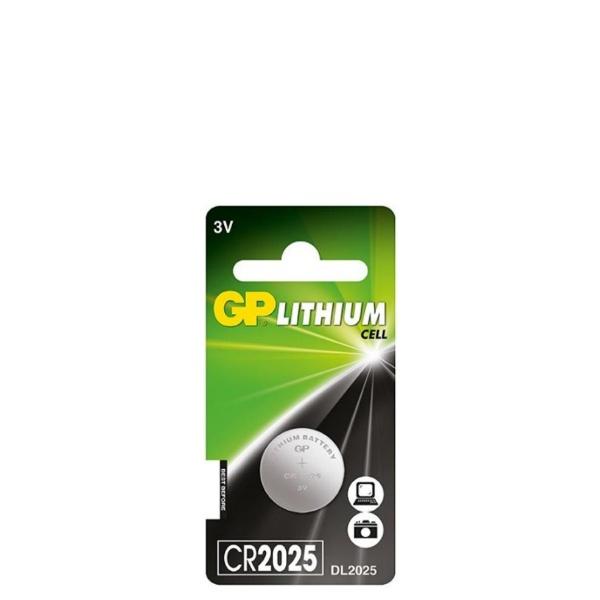 Литиева бутона батерия 3V - GP-BL-CR-2025-1PK