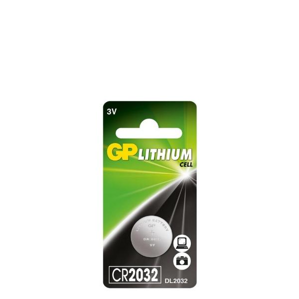 Литиева бутона батерия 3V - GP-BL-CR-2032-1PK
