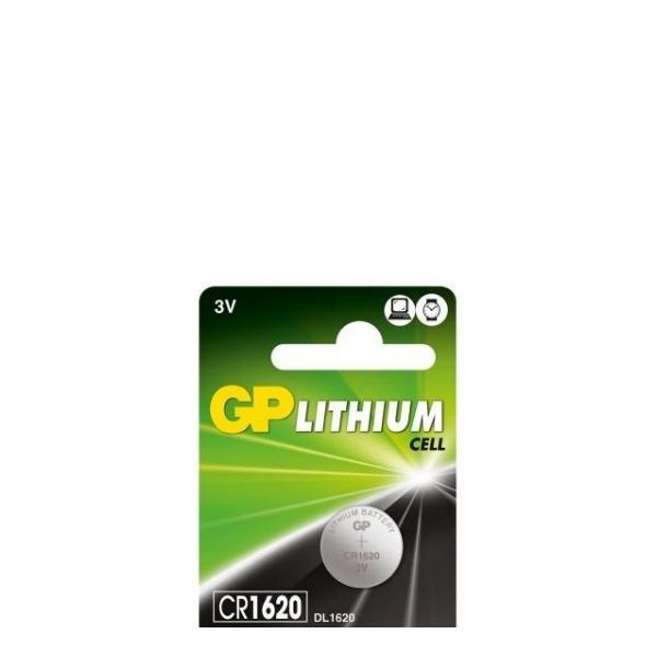 Литиева бутона батерия 3 V - GP-BL-CR1620-7U5