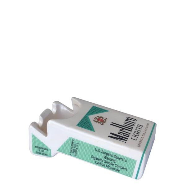 Керамичен пеплник Цигарена кутия