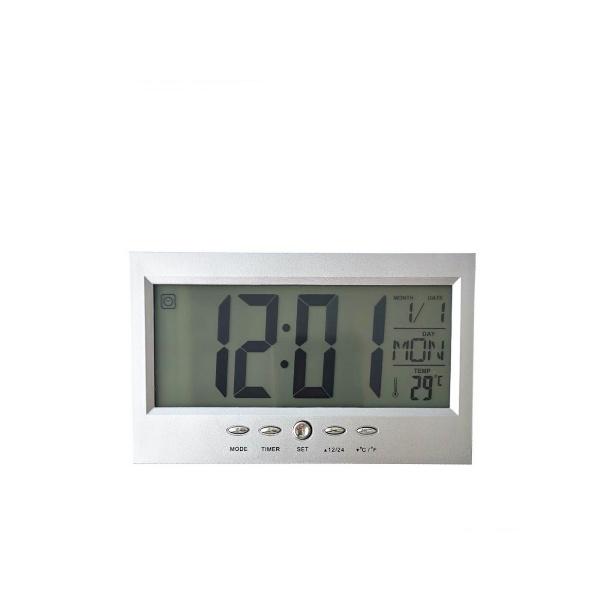 Електронен настолен часовник с аларма