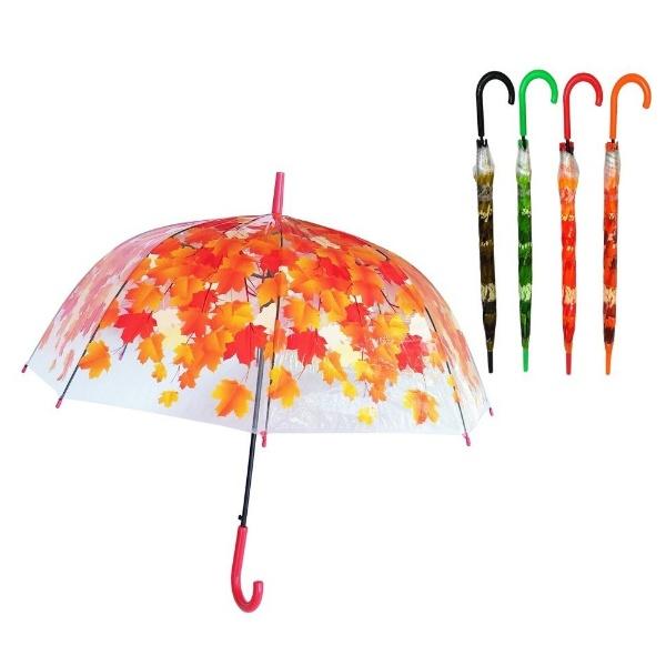 Дамски чадър 60 см Листа