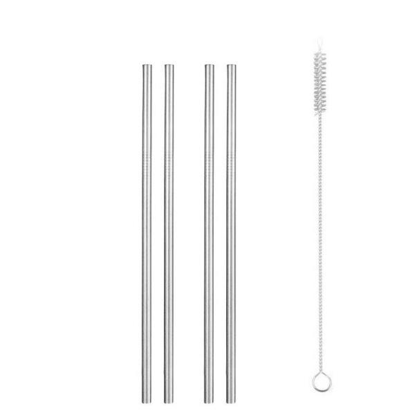Метални сламки за многократна употреба