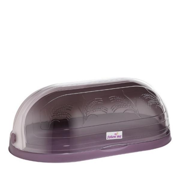 Кутия за хляб с декор пудра