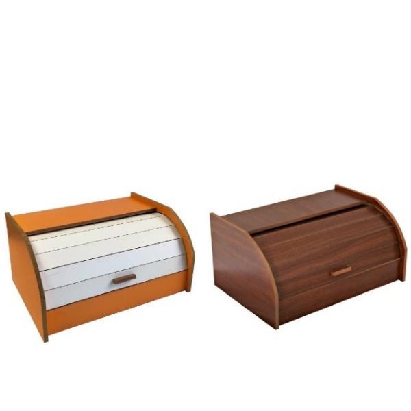 Кутия за хляб дървена