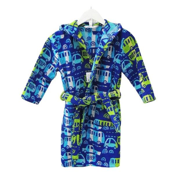 Детски халат за баня с качулка Д110 - Асорти