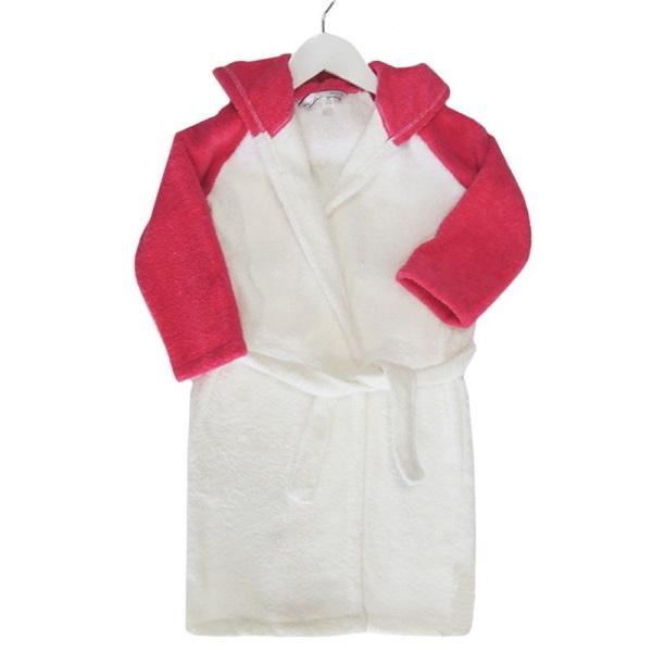 Детски халат за баня с качулка Животинче