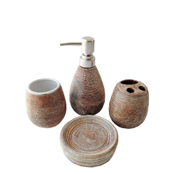 Керамичен комплект за баня - Кръг