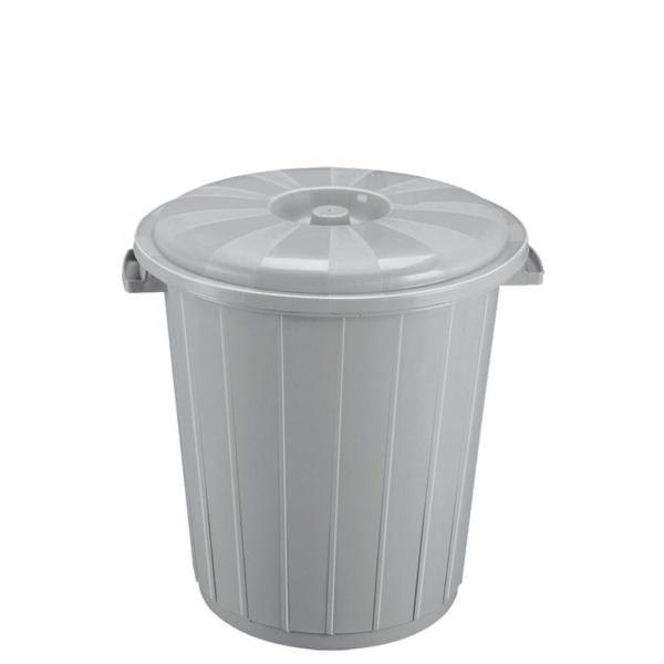 Кош с капак от вторична пластмаса 50 литра