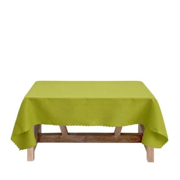Зелена покривка за маса 150/150 Тринити