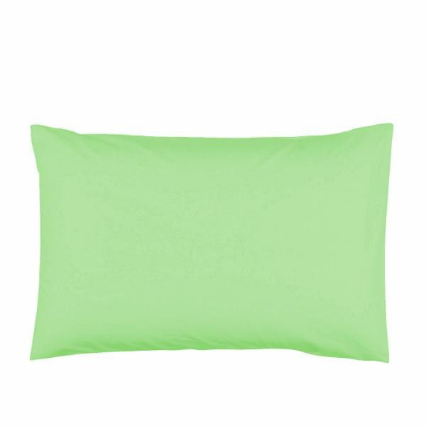 Памучна калъфка за възглавница 50/70 Зелена