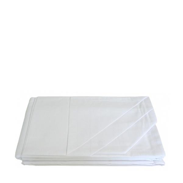 Комплект чаршаф с две калъфки White 200/215