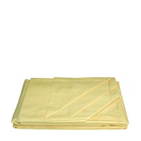 Комплект чаршаф с две калъфки Yellow 200/215
